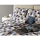 Linge de lit en satin JOOP! Mosaik Relaunch – Fourre de duvet – 200x210 cm