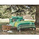 Linge de lit Bassetti Granfoulard Nabucco verde – Fourre de duvet – 160x210 cm