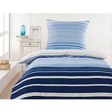 Linge de lit en satin ESPRIT Buttercup blue