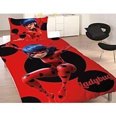 Parure de lit Miraculous avec son personnage principal Ladybug