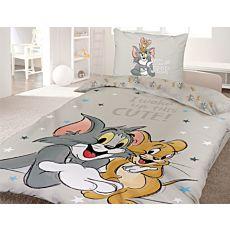 Linge de lit avec les personnages sympas Tom & Jerry