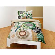 Parure de lit avec beau motif de mandalas et de fleurs
