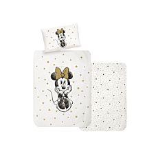 Parure de lit avec Minnie et un motif d'étoiles