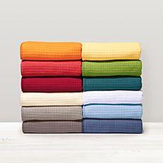 Couverture d'été douillette en coton