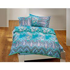 Parure de lit à motif cachemire romantique