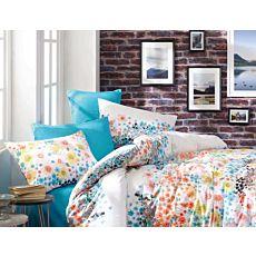 Linge de lit à motif de fleurs