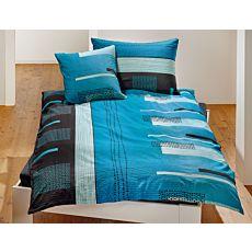 Linge de lit à losanges