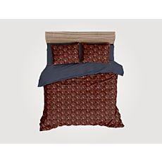 Linge de lit avec motif d'hexagones