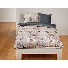 Parure de lit agrémenté d'un superbe motif de fleurs des champs