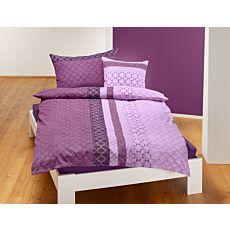 Parure de lit orné d'un motif moderne