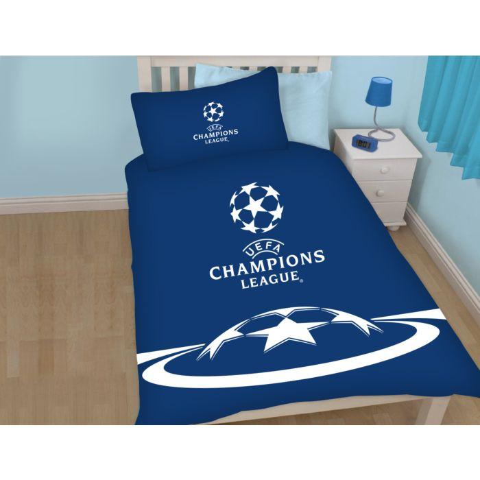 Linge de lit UEFA Champions League bleu