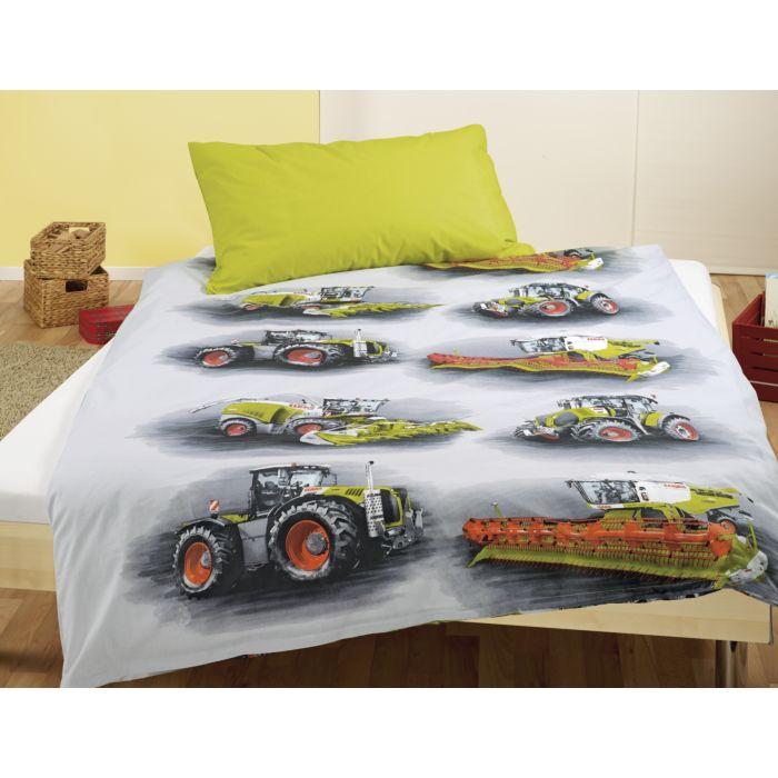Parure de lit avec tracteurs CLAAS