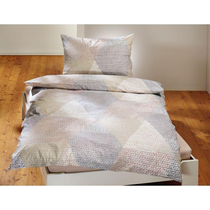 Parure de lit à motif géométrique
