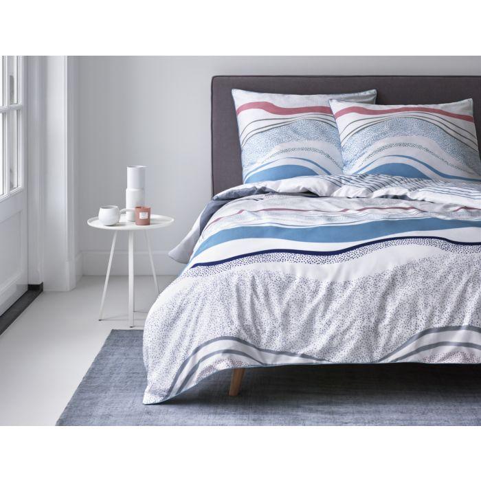 Parure de lit ESPRIT à motif de vagues colorées