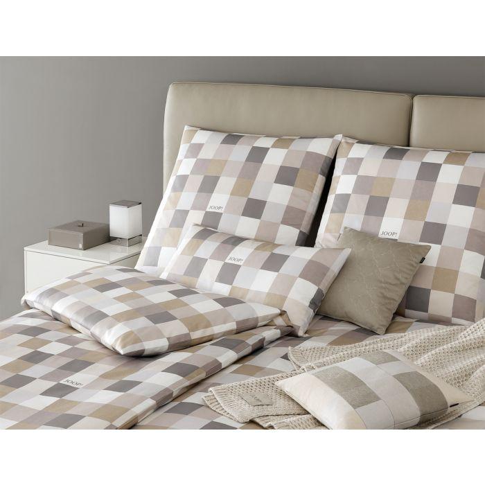 Linge de lit en satin JOOP! Mosaik Relaunch